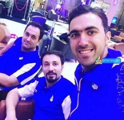 6° grupo atletas iranianos embarcam para Rio 2016
