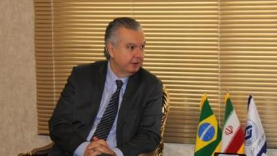 Ambassador of Brazil in Tehran met with the President of the Iranian Bank of Industry and Mines