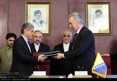 Iran, Bósnia desenham um plano de acção conjunto sobre a coesão económica co-op
