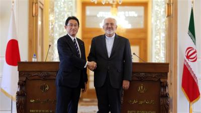 Japan, Iran FMs agree on investment pact.