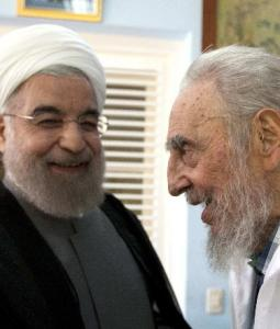 Posthumous accolade to Castro comes from Rouhani