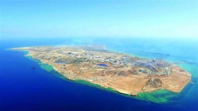 O maior Terminal de petróleo do Irã está preparado exportação