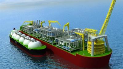 Irã em conversações com a 'maior empresa de FLNG'