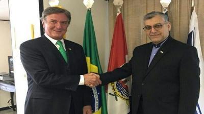 Brasil apoia as políticas pacíficas do Irã