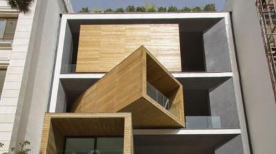 Irã arquiteto constrói rotativa casa em Teerã