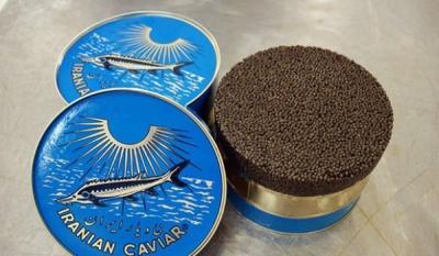 Irã exporta caviar para os EUA