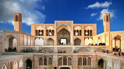 Venha conosco ao Irã - 25 - província de Isfahán - cidade Kashan